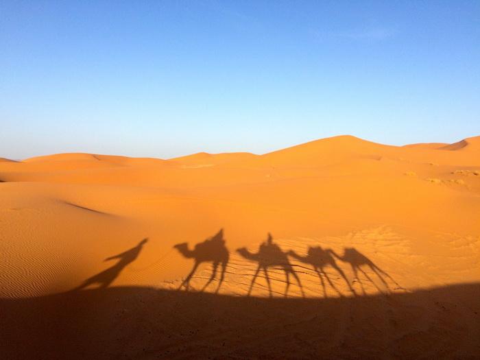 Пустыня Сахара, Африка. Самые красивые места в мире от которых захватывает дух