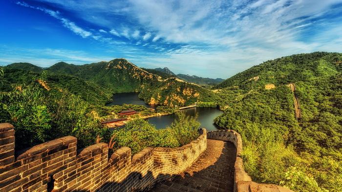 Великая Китайская стена, Китай. Самые красивые места в мире от которых захватывает дух