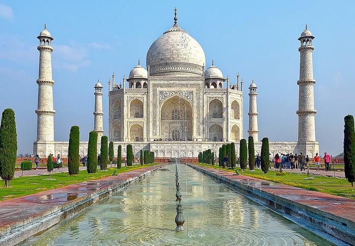 Тадж-Махал. Индия. Самые красивые места в мире от которых захватывает дух