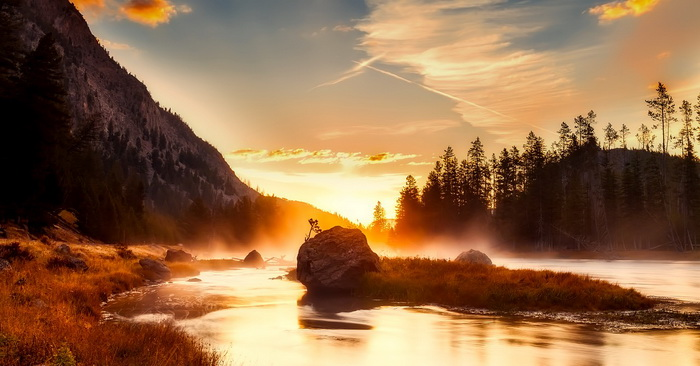 Национальный парк Йеллоустоун. Самые красивые места в мире от которых захватывает дух
