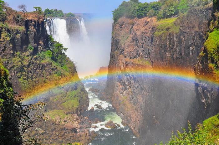 Водопад Викторя, Замбия. Самые красивые места в мире от которых захватывает дух
