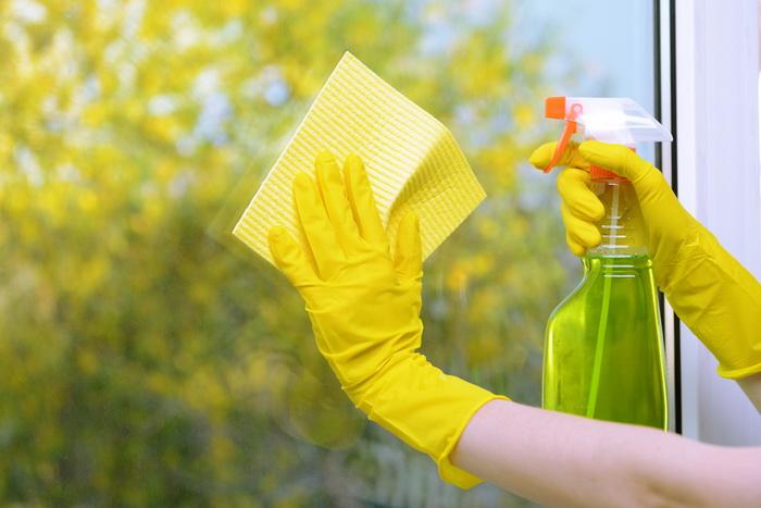 Средство для чистки стекол и зеркал - способы применения/Блог обычной женщины