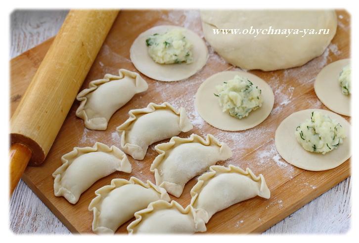 Тесто для вареников на ледяной воде/Блог обычной женщины